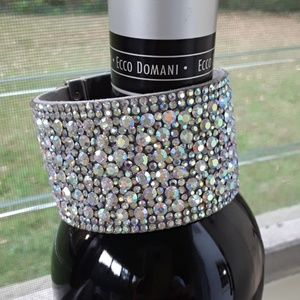 MAJOR BLING! Sparkly Crystal Cuff Bracelet!